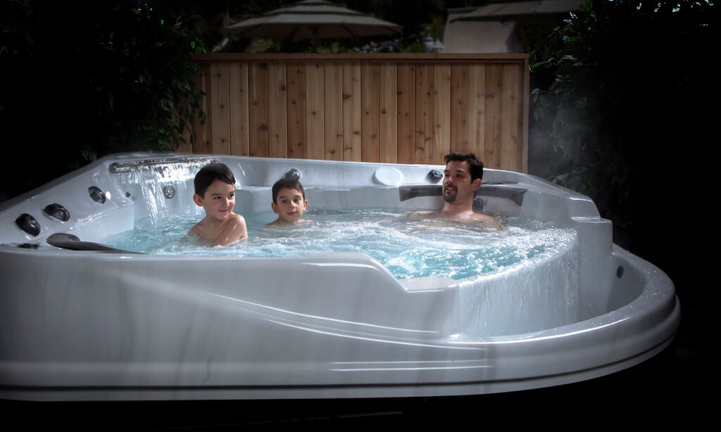 coast spas hot tubs that fit your lifestyle and budget. Black Bedroom Furniture Sets. Home Design Ideas