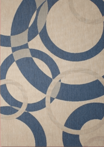 Champagne-Neptune Outdoor Rug by Treasure Garden | Available at Rich's