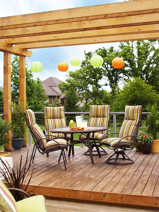 9 Inexpensive Ways to Refresh your Outdoor Decor | RichsHome.com