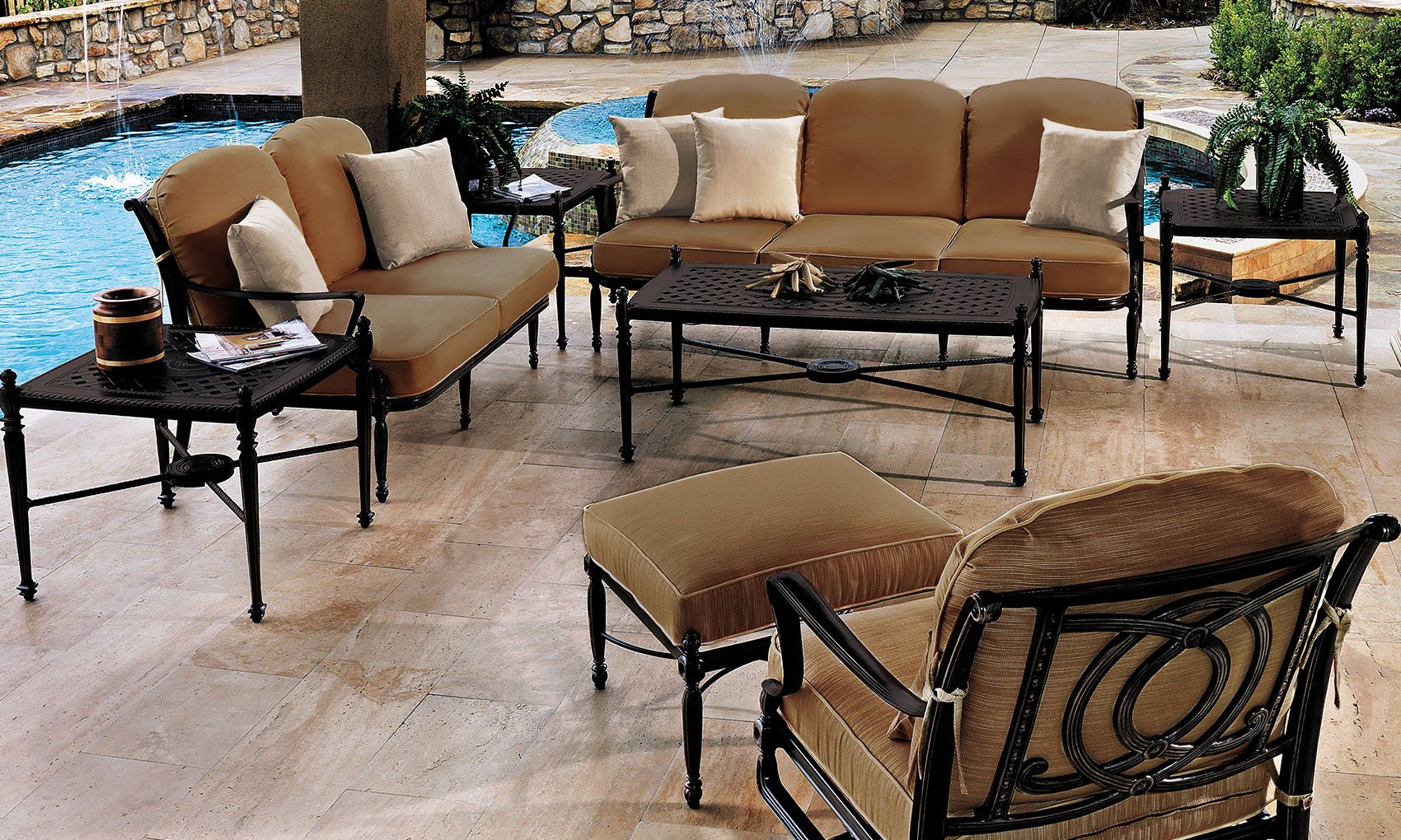 The Bel Air Collection By GenSun. Available At Richu0027s For The Home.