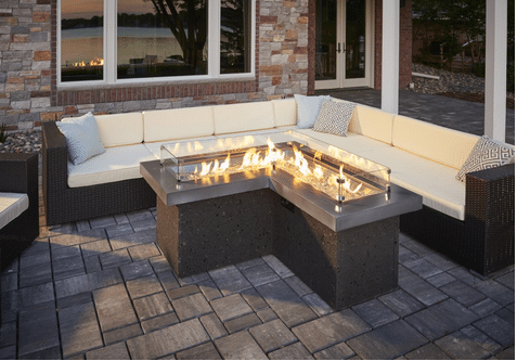 The Pointe Fire Pit Table, by Outdoor GreatRoom