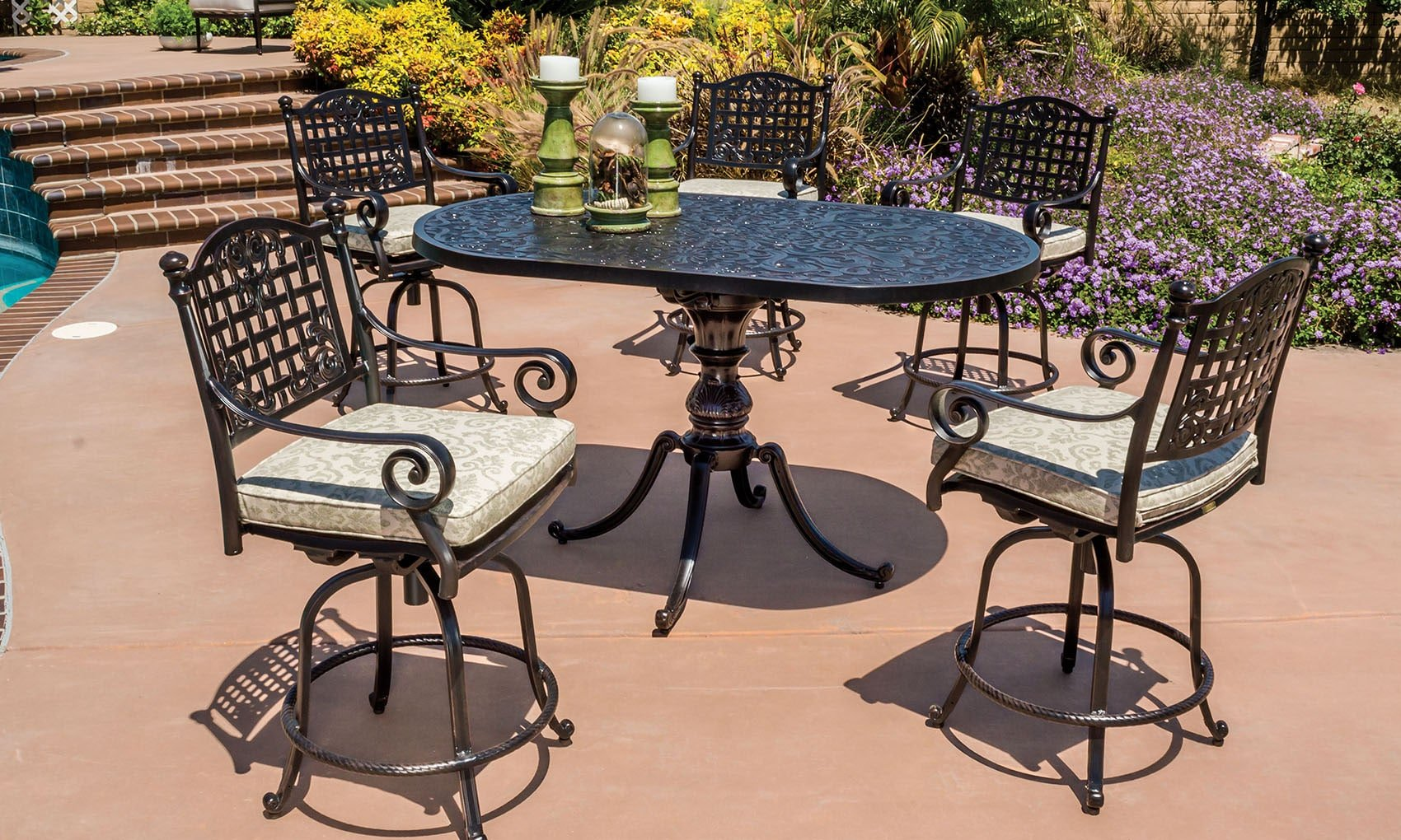 The Verona Collection by GenSun. Available at Rich's for the Home.