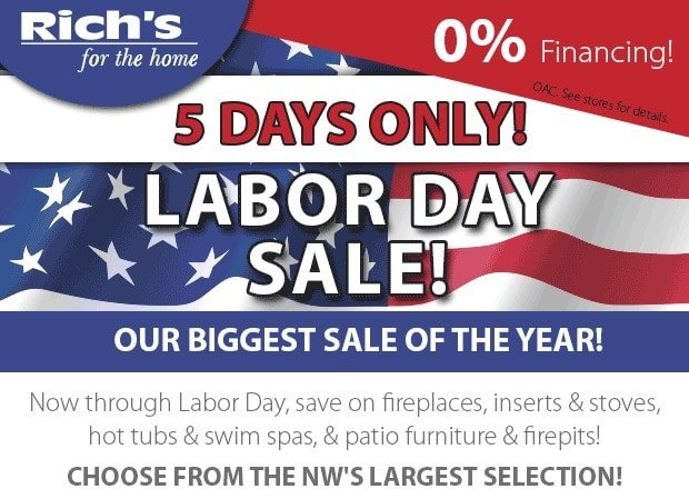 Labor Day Sale Huge Savings Rich s for the Home Seattle Bellevue