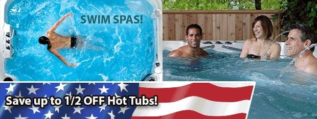 Rich's Labor Day Sale: Save up to 1/2 off hot tubs