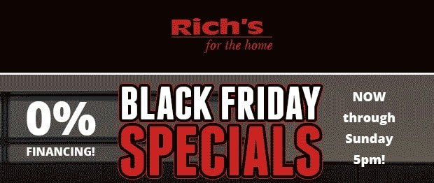 Black Friday Specials | RichsHome.com