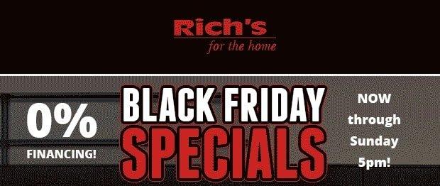Black Friday Specials | RichsHome.com