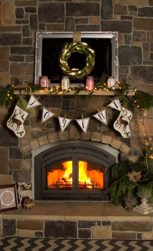 How to Transform Your Mantel to a Winter Wonderland Design | Richshome.com