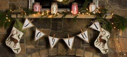 How to Transform Your Mantel to a Winter Wonderland Design   Richshome.com
