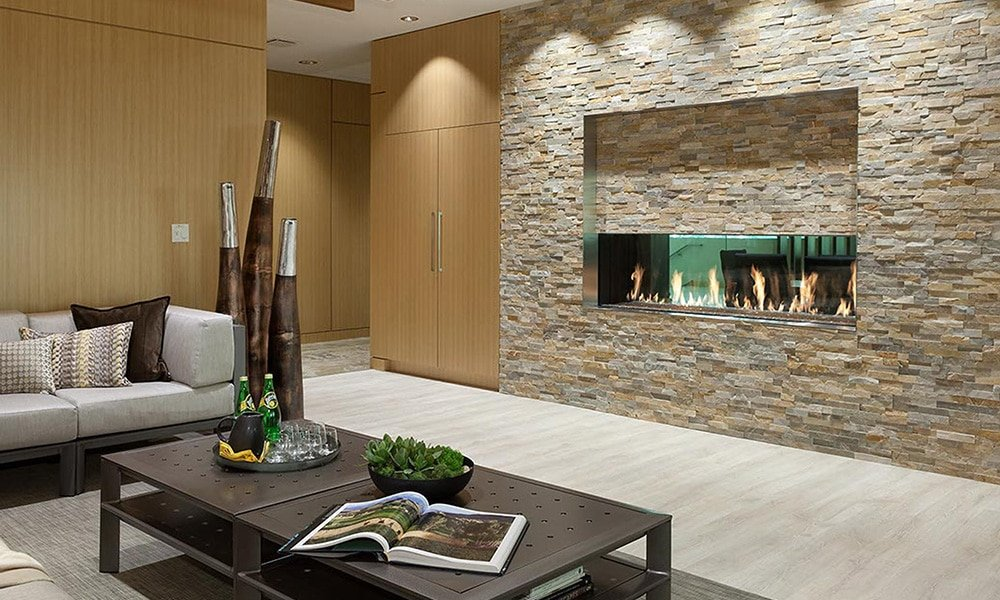 DaVinci Custom Fireplaces at Rich's for the Home
