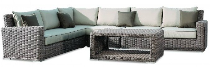 Create a Serene Outdoor Space by Pairing Neutrals With Colors   Coronado Collection   Rich's for the Home