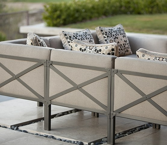 Urban-Industrial Trend in Outdoor Furniture | Creighton Collection by O.W. Lee | RichsHome.com