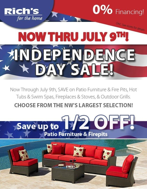 Independence Day Sale | RichsHome.com
