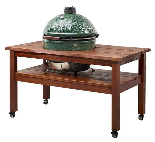 Artisan Hardwood Table for the Big Green Egg | Richshome.com