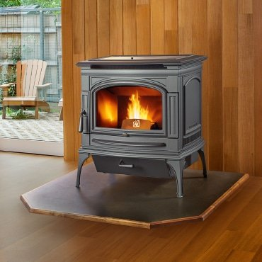 What's New in Pellet Stoves: FoxFire™ and Deerfield™ by Lopi   Richshome.com