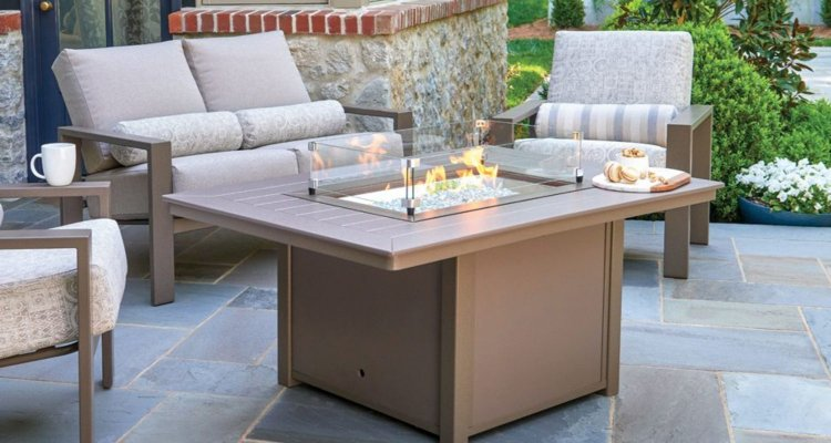 MGP-Top Fire Table, by Telescope Casual Furniture