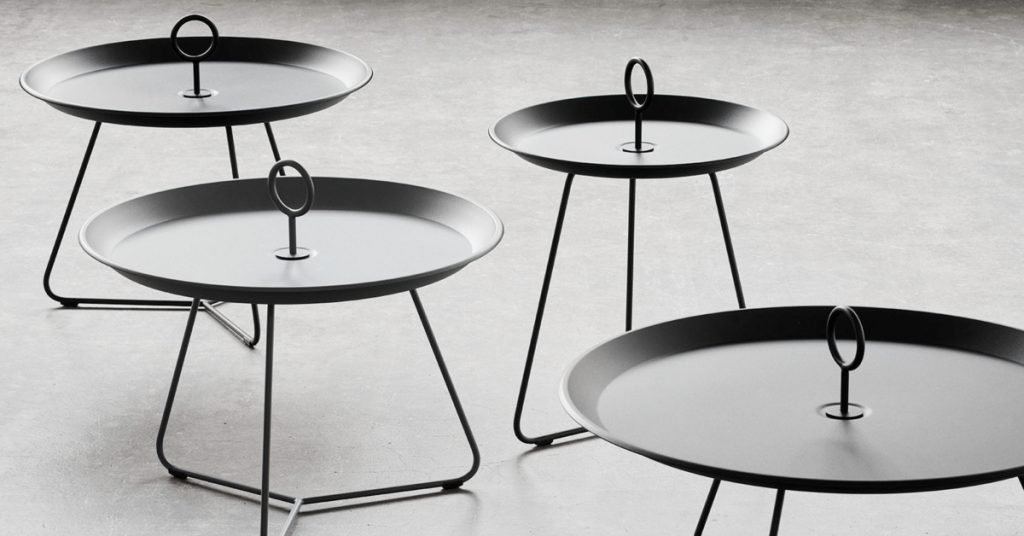 Click Eyelet Side Tables: Minimalist, Modern, Versatile